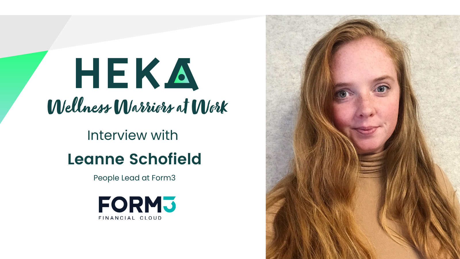 Interview with Leanne Schofield from Form3