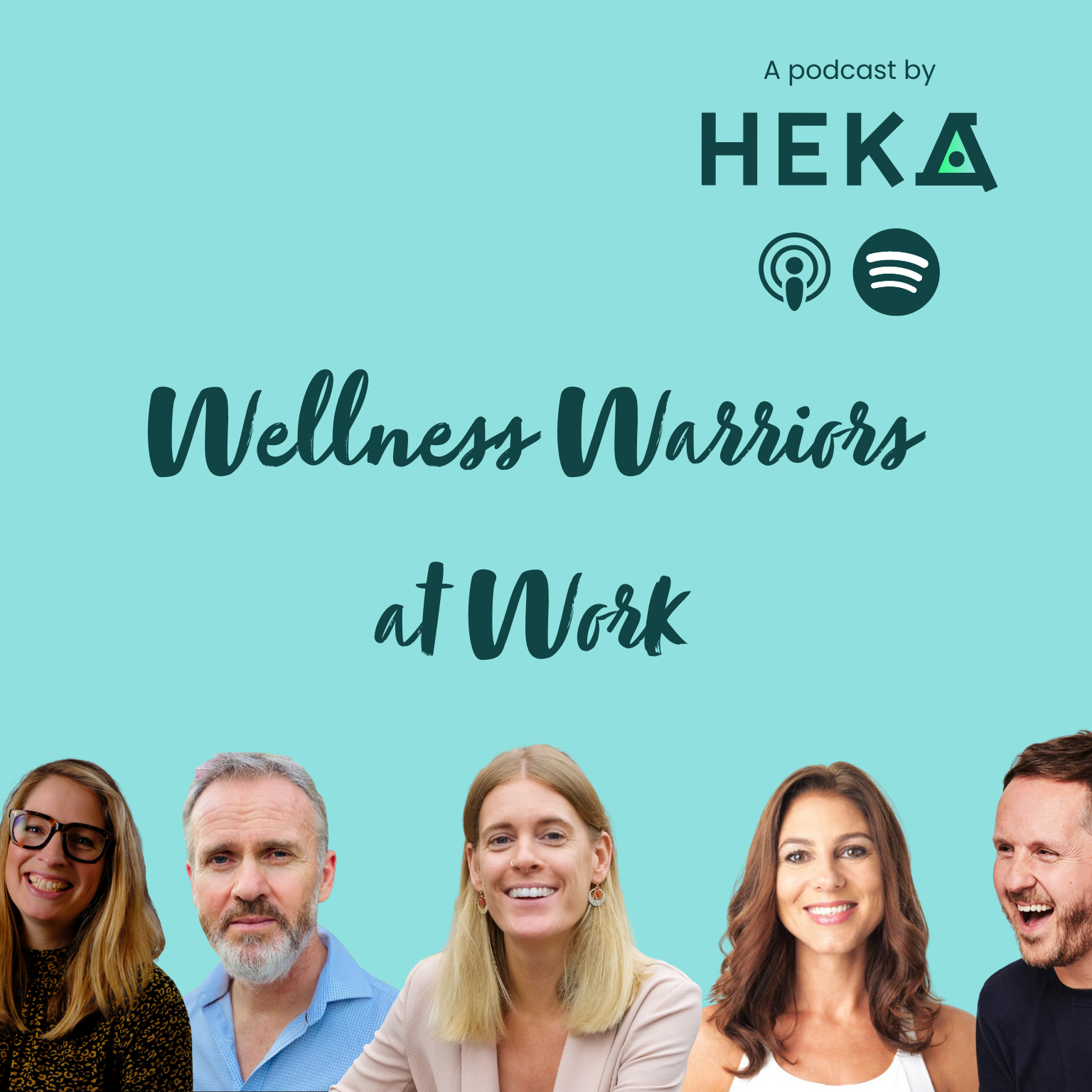 Welness Warriors at work - a podcast by Heka
